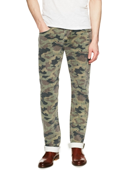 hudson field camo jeans