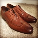 Ted Baker Brown Wingtip Brogues