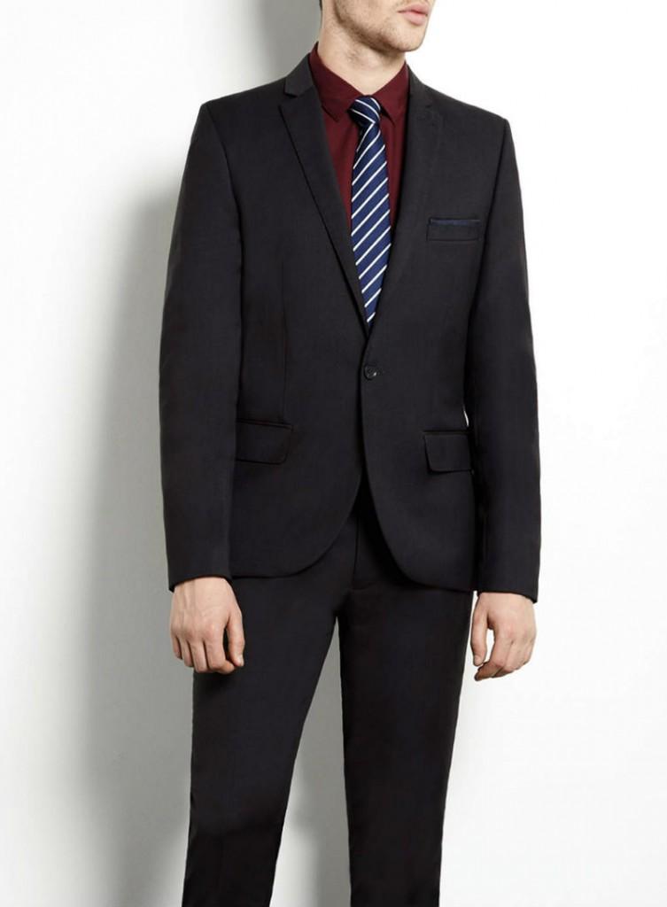 Topman Men's Suit