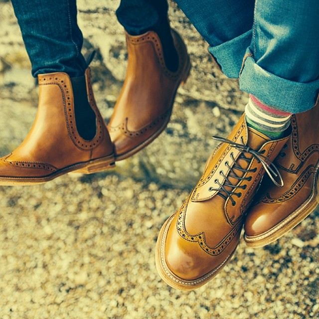a2eb7d94231 Brogue Boots for Him and Her - Mensfash