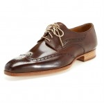 Brown Leather Wingtips Carlos Santos