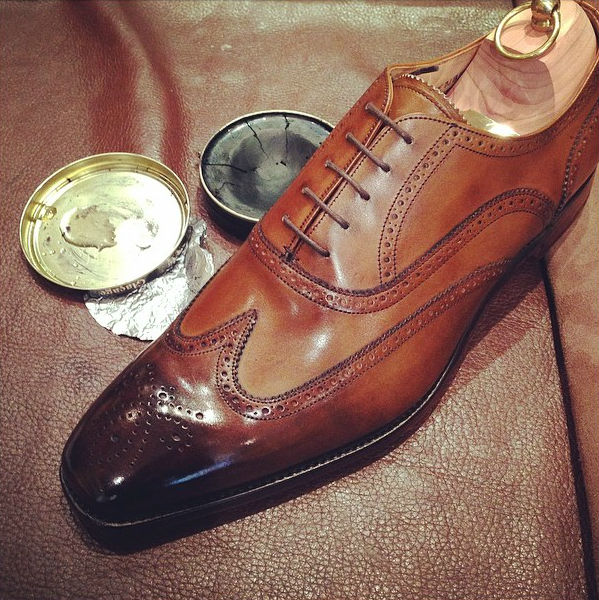 Mens Simple Leather Shoes