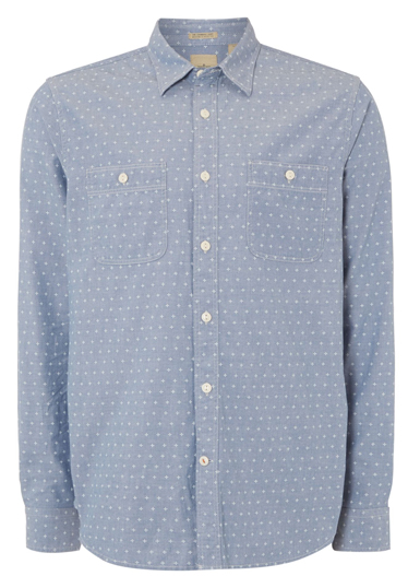 chambray mens shirt