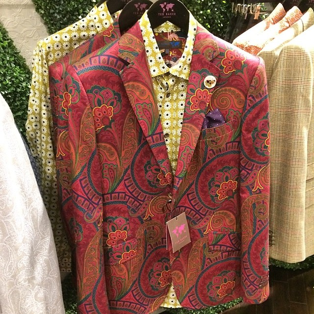 colorful mens blazer wild