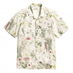 H&M Linen Blend Floral Printed Shirt