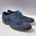 Blue Men's Cole Haan Suede Wingtips