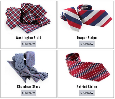 the tie bar stars and stripes