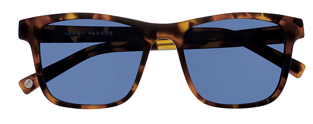 warby parker ingram sunglasses tiger tortoise