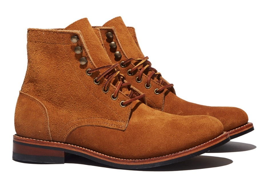 Oak Street Bootmakers Trench Boot - Peanut Suede