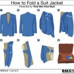 How to Fold Men's Suit Jacket