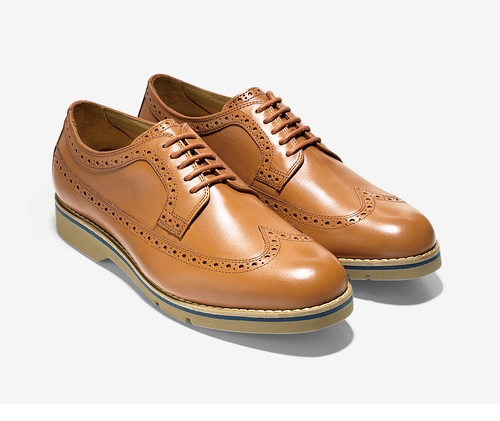 great jones long wingtips cole haan british tan