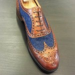 Unique Two-Tone Men's Wingtips