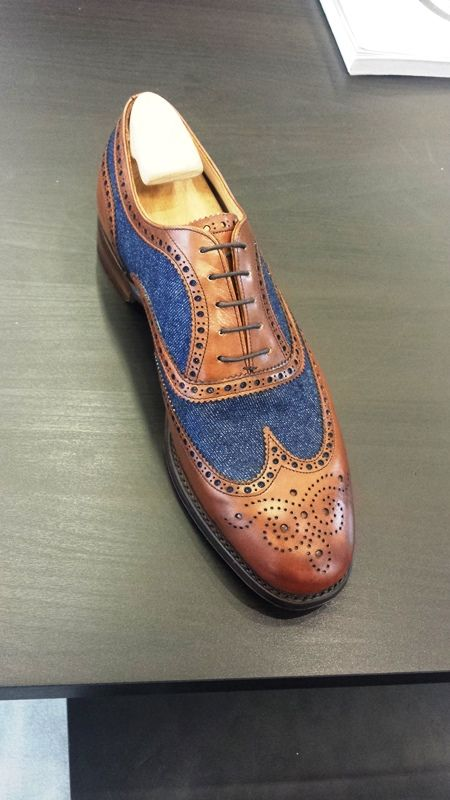 unique men's wingtip dress shoes