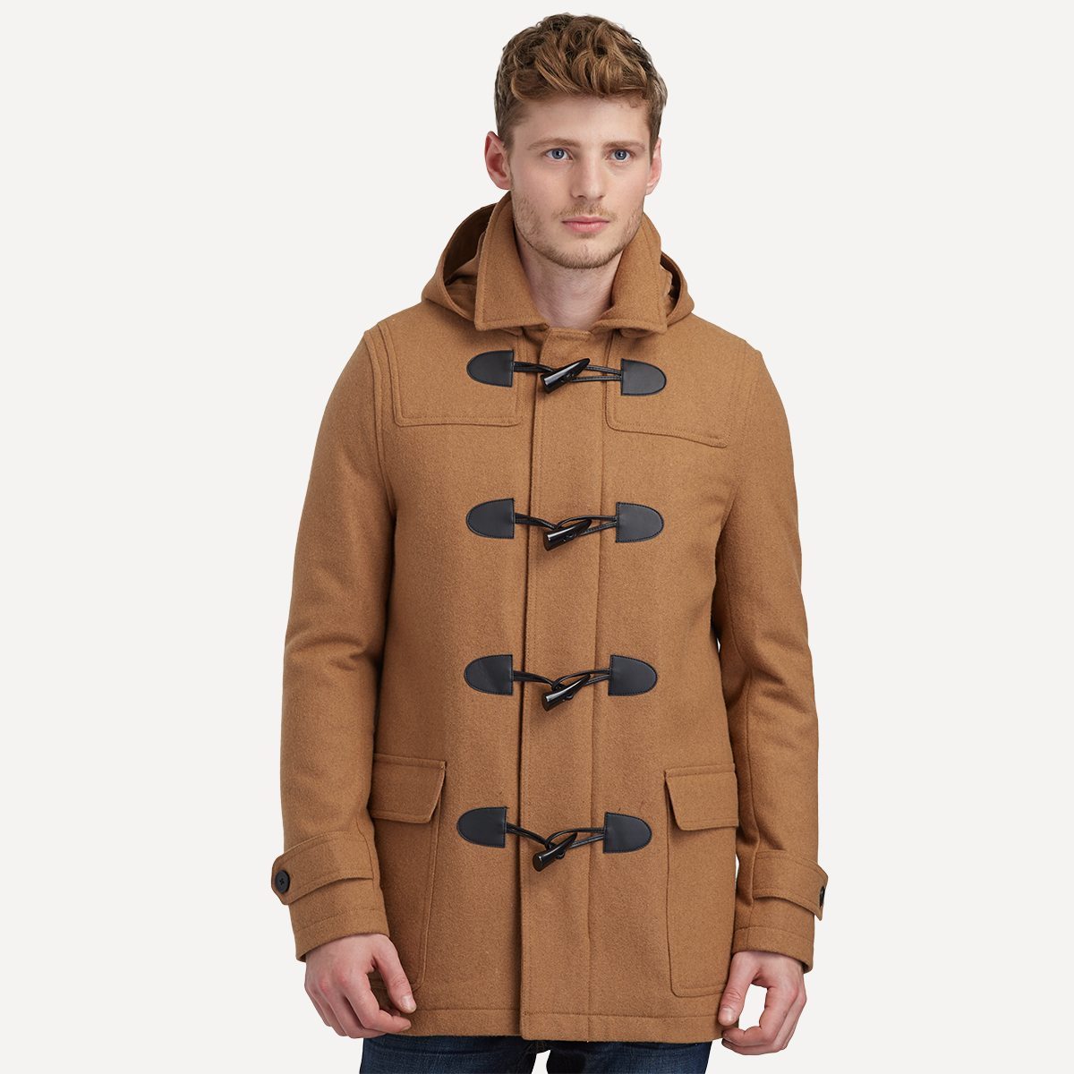Wool Quilted Toggle Coat - Mensfash