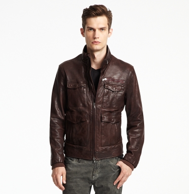 leather avaitor jacket