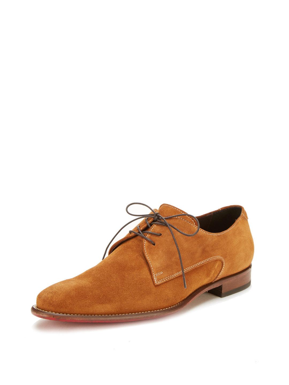 monza suede derby shoe