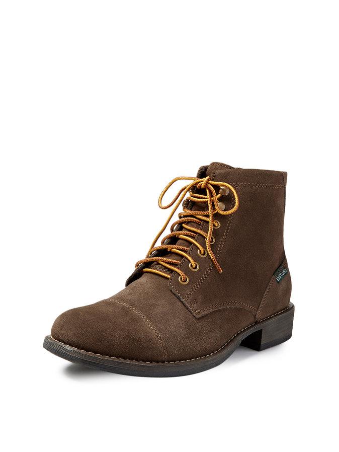 eastland leather boots cap toe