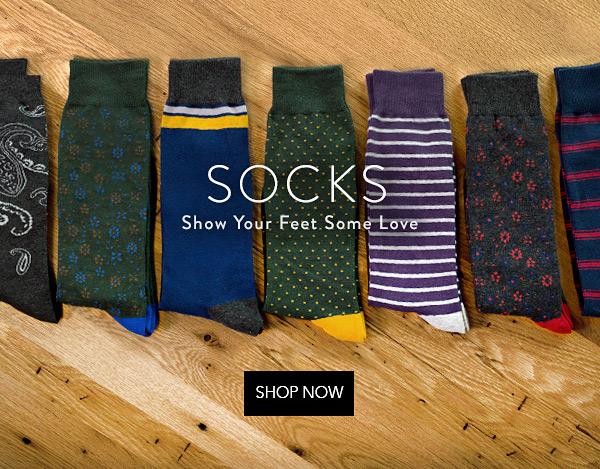 mens socks at tie bar