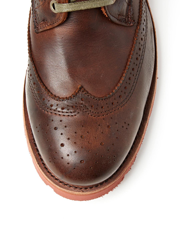 walk over Zachary Oak Potomac Boot toe