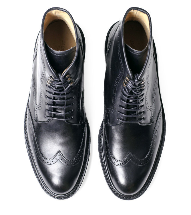 Carter Wingtip Combat Boot