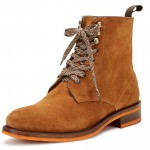 Russel Brown Lace-Up Boots