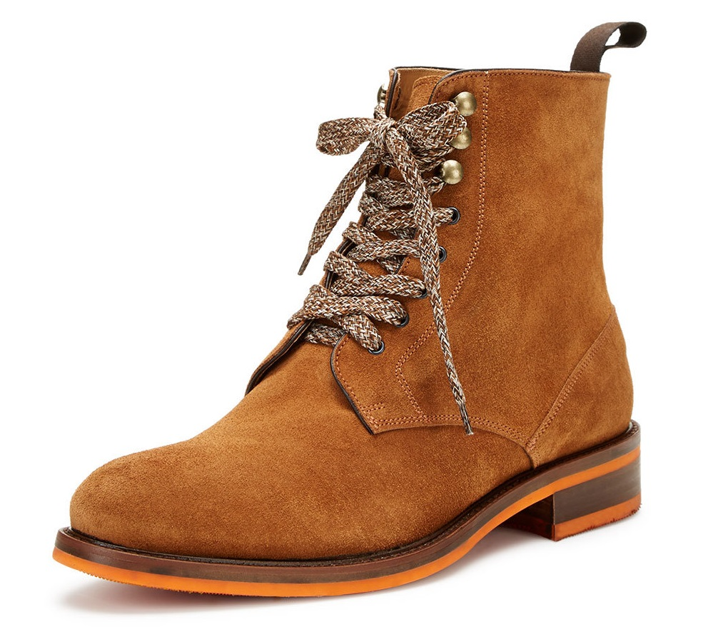 Russell Park lace up mid boot