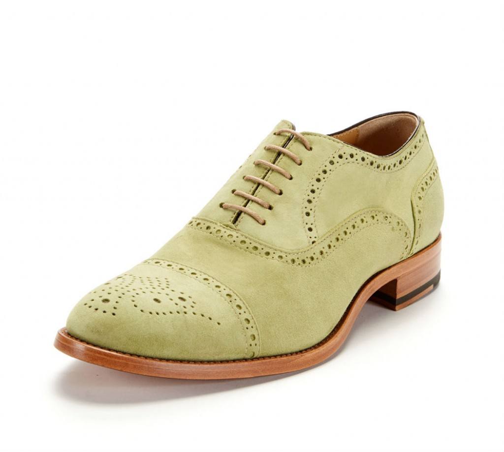 leather brogue oxford