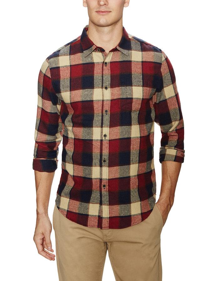 Keep warm in flannel mensfash for Mens warm flannel shirts