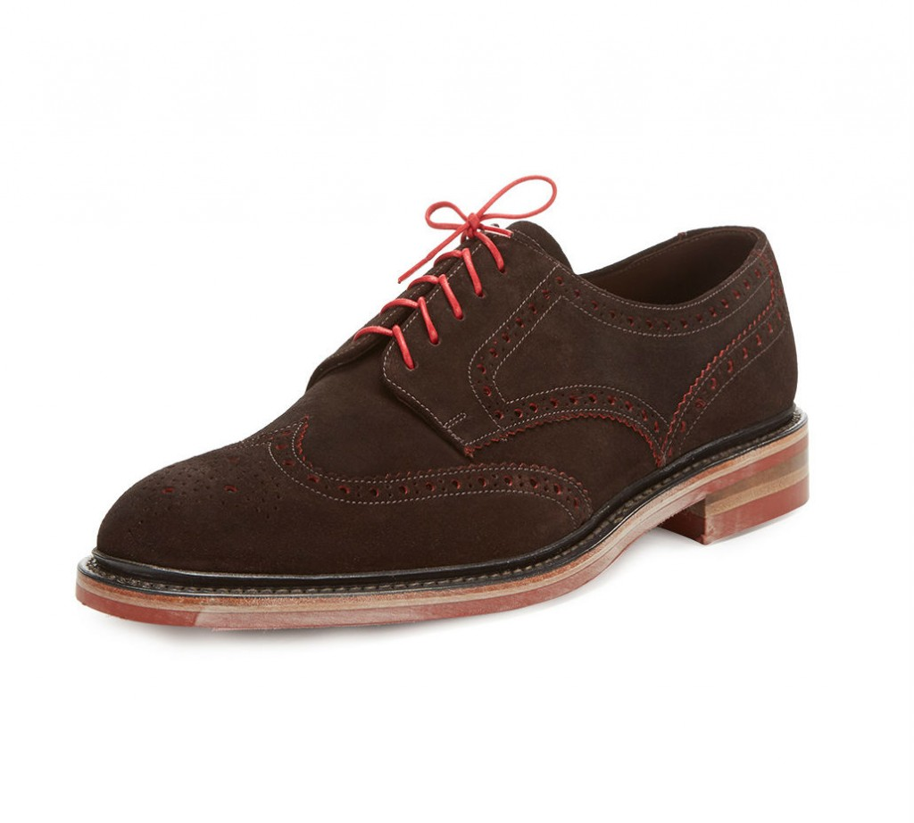 suede mens wingtips
