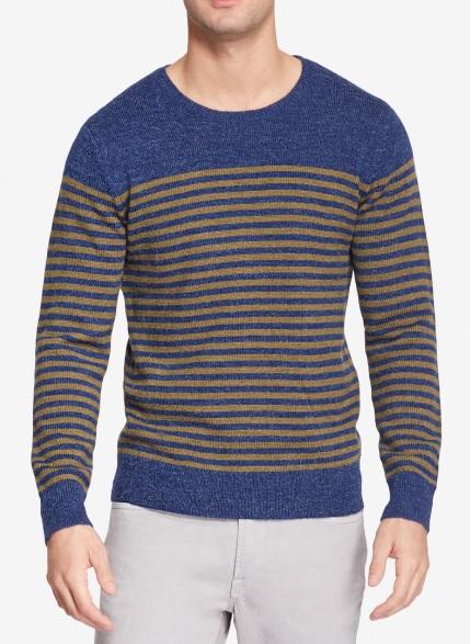 NORWICH ALPACA BLEND CREW NECK mens sweater