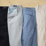 Washed Chinos New Colors