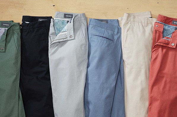 bonobos washed chinos new colors