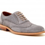 Suede Wingtips from Gordon Rush