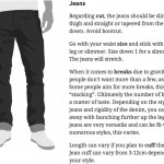 How Men's Clothes Should Fit