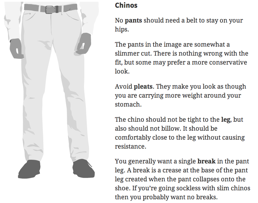 how mens pants should fit
