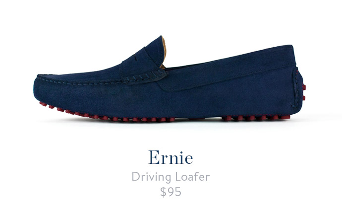 jack erwin ernie mens driving loafer navy