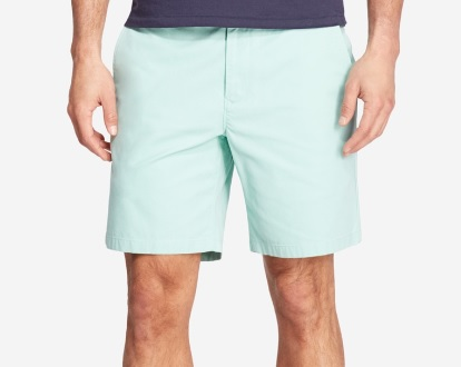 mint washed chino shorts