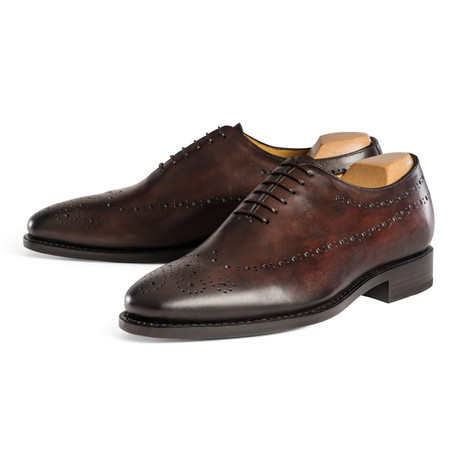 punch toe mens shoes