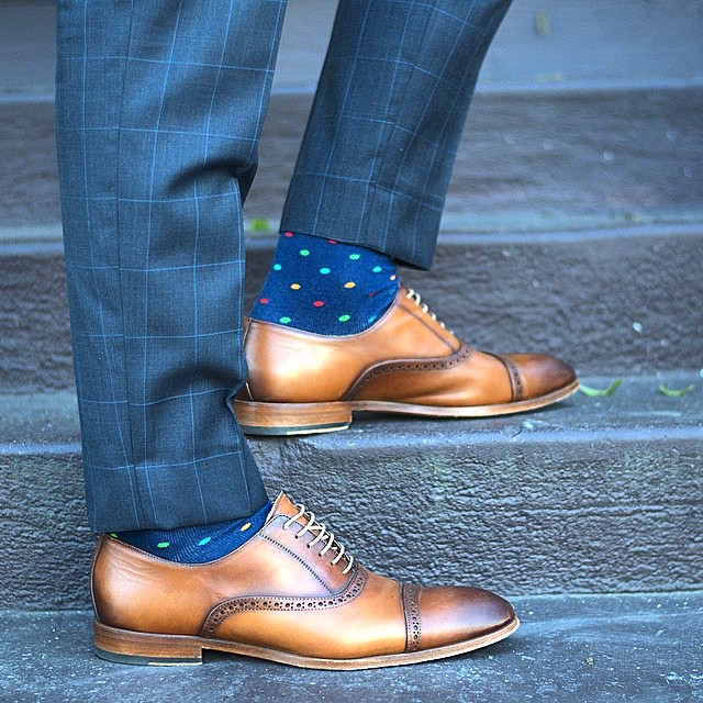 Dapper Blue Shoe Match