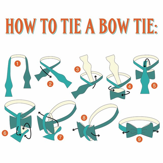 How to Tie a Bow Tie - Mensfash