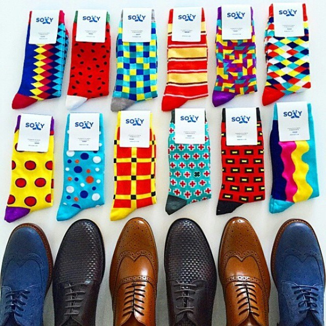 Look - Mens Best dress socks pictures video