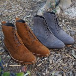 Suede Oxford Boots