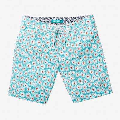 SWIM_PrintedBoardshort_9in_DaisyField_WaterspoutWhiteElectricRed_category