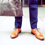 Cognac Men's Oxfords