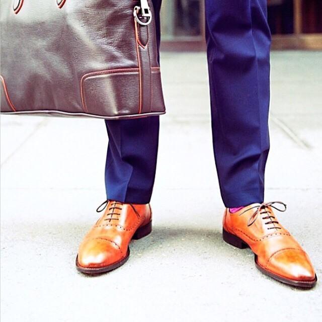 brando cognac mens oxford dress shoes