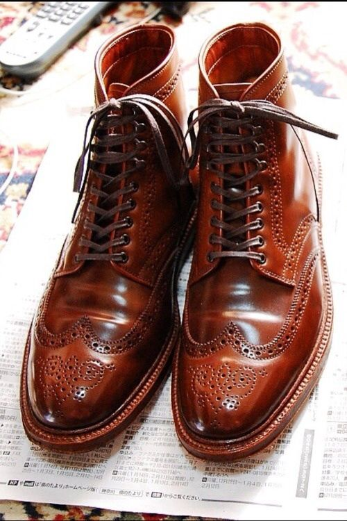 Mens Colored Oxford Shoes