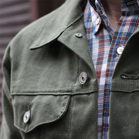 gustin trucker jacket fashion