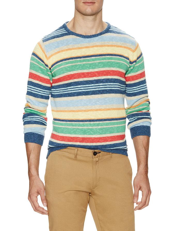 stripe mens sweater gant