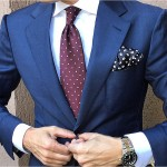 Dapper Navy Men's Suit