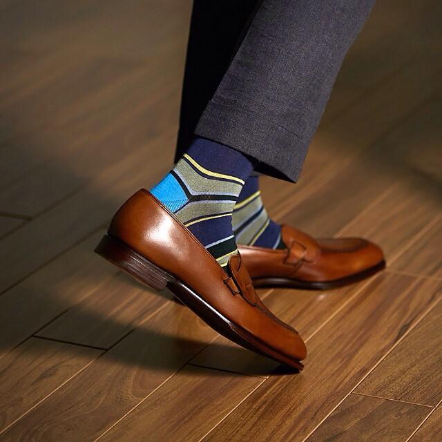 unique dress socks mens style